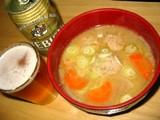 豚団子入り味噌汁