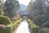 浄妙寺山門を臨む