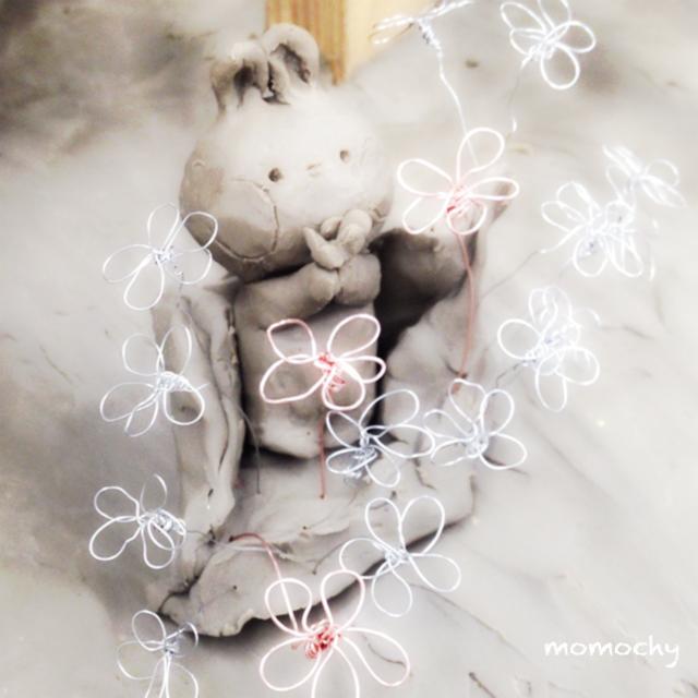 ワイヤークラフトのお花*作り方