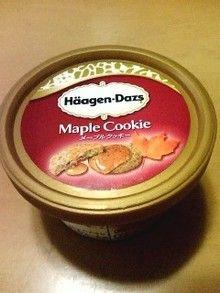 ハーゲンダッツ メイプルクッキー♪
