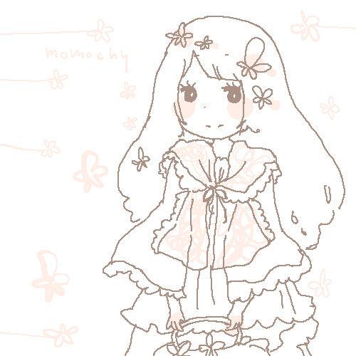 いらすと*しだれ桜さん