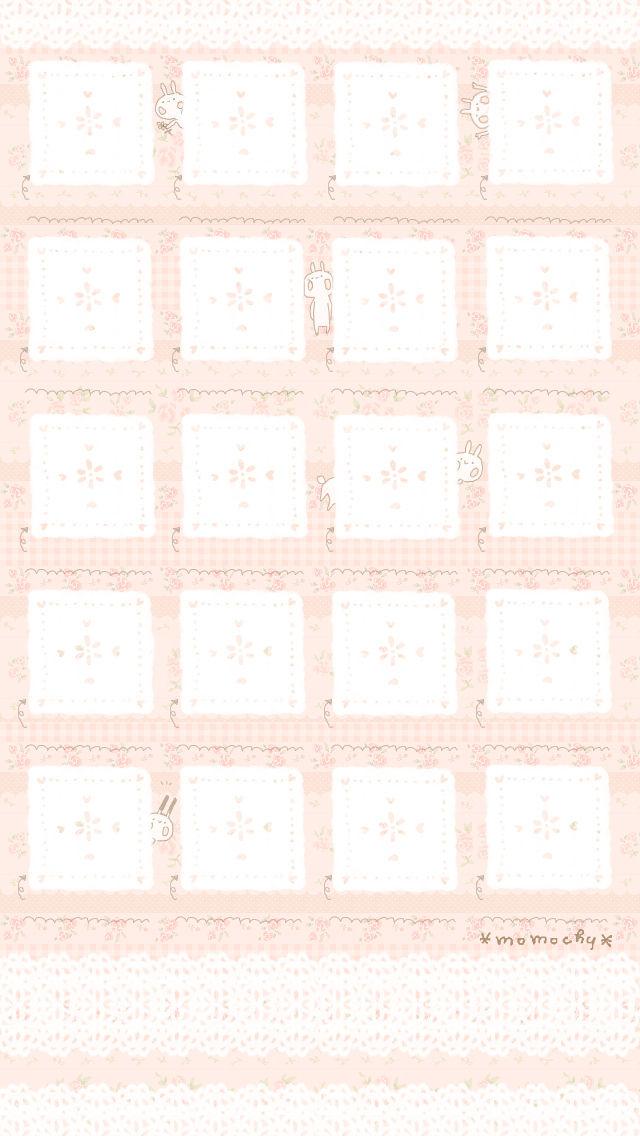 Iphone5用うさぎ壁紙 イラストレーター Momochy オフィシャルブログ 桃の宝石箱