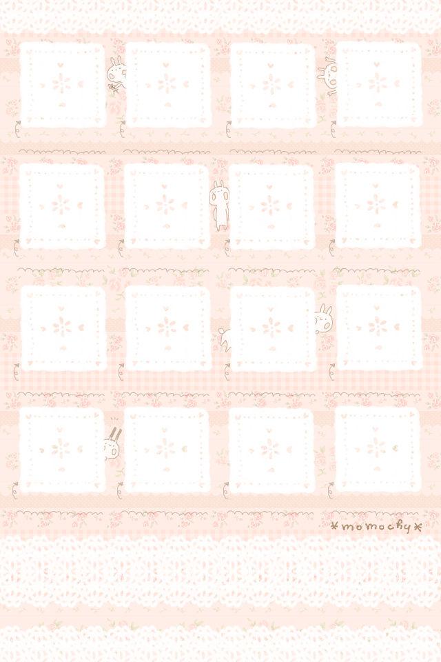 Iphone用うさぎ壁紙 イラストレーター Momochy オフィシャルブログ