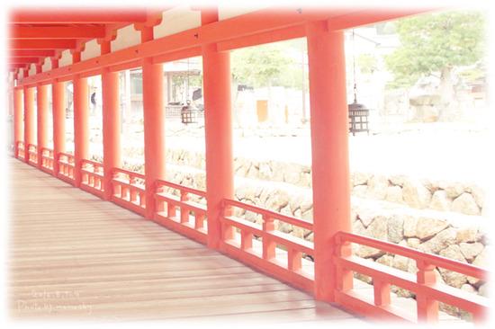 広島2日目 厳島神社と牡蠣とおへんじも