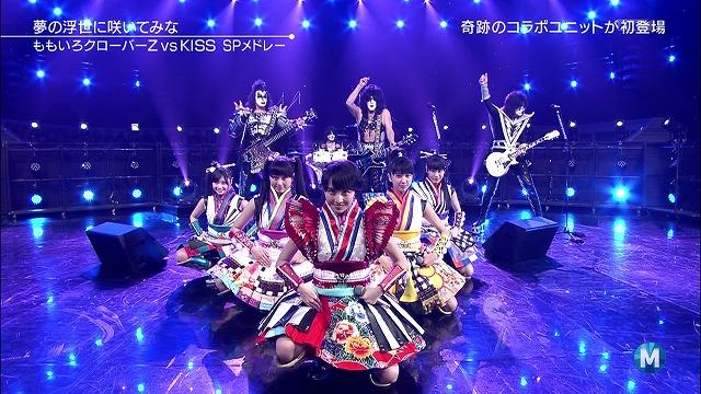 KISS JAPAN TOUR 2015 ももクロ特別参戦