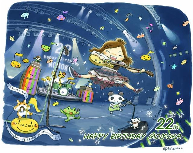 【ももか誕生日】『今年も315な1年に!(2Θ2)』3/15(水)「有安杏果 22歳 生誕祭ツイッター」まとめ【ももクロ】