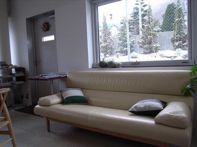 ソファもかわいい