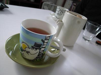 お茶はムーミンパパで