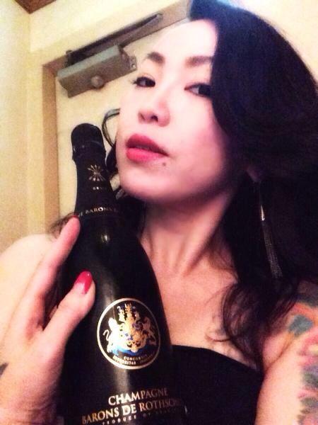 美女とシャンパン☆