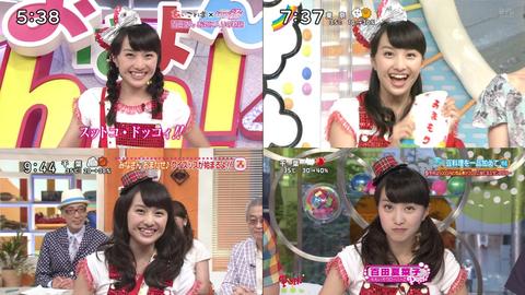 ももクロ百田夏菜子が番宣でテレビジャック→「はじめてのおつかい」視聴率13%