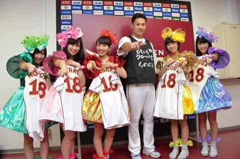 楽天の田中将大投手、ももクロに大感激 「今日を楽しみにシーズンを過ごしてきた」「奥さんはれにちゃんに似ている」