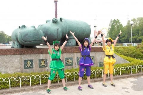 【朗報】明日のももクロこども祭りに子連れ優先のワンコインエリア設置!