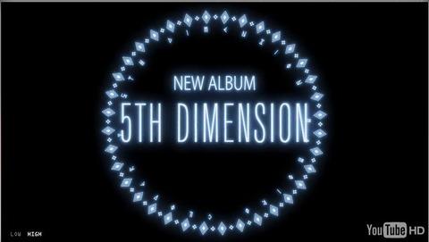 ももクロ2ndアルバム「5TH DIMENSION」特設サイトにて予告動画・アルバム情報を公開!