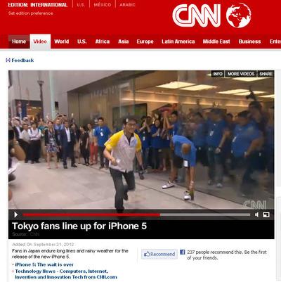 【ももクロ】CNNのサイトにしおりん推しモノノフ / とうとう中野DVDのAmazonレビューに☆4つが…