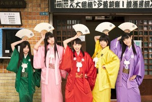 桃黒亭一門×アニメ「じょしらく」コラボ人力車が浅草と秋葉原を走る!!