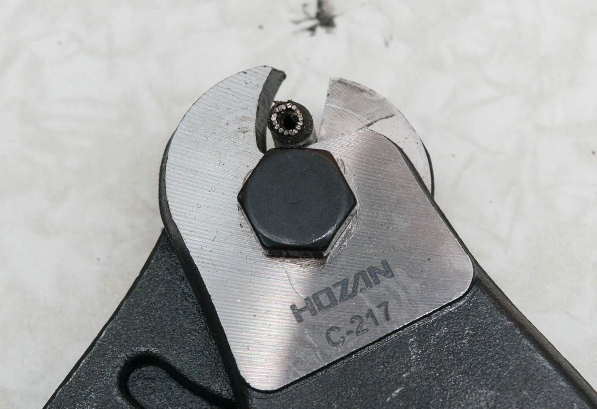 直径5mmの自転車用のアウター ...