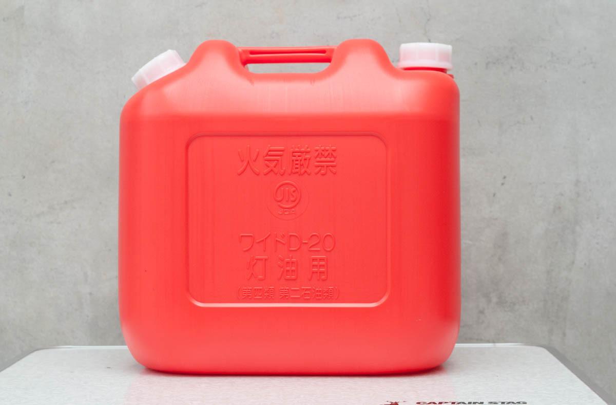 モモンハン日記ケーヨーD2 ワイド灯油缶20L赤 レビュー