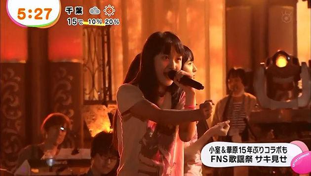 ももクロ めざましテレビ FNS歌謡祭 番組宣伝