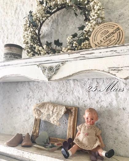 アトリエ再々改造計画~窓枠周りの漆喰塗り*
