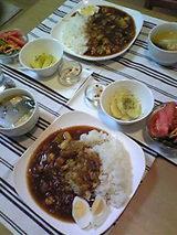 今日の夕飯0213
