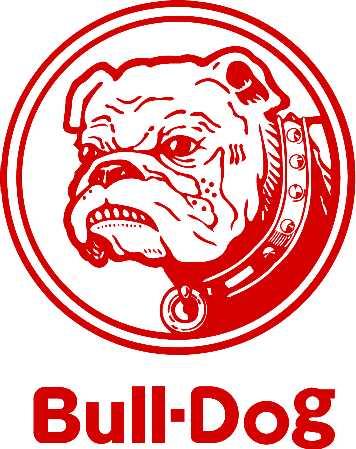 犬キャラクターブルドッグ