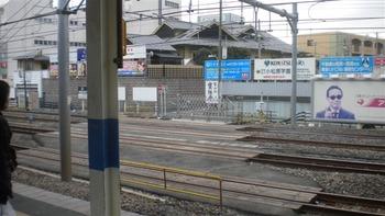 南浦和駅エレベーター工事搬入路? 001