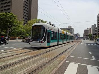 広島視察 路面電車