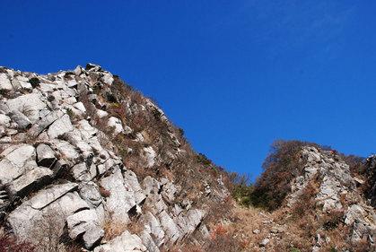081113鎌ガ岳1