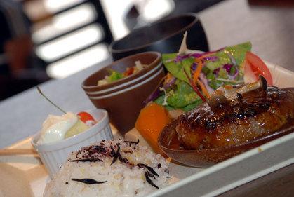 Cランチ(鹿児島牛と豆腐の