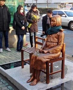 韓国民の7割、日韓「慰安婦」合意の再交渉を