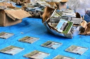 「処分に困って」AKBのCD585枚を山に投棄、容疑の男を書類送検…福岡