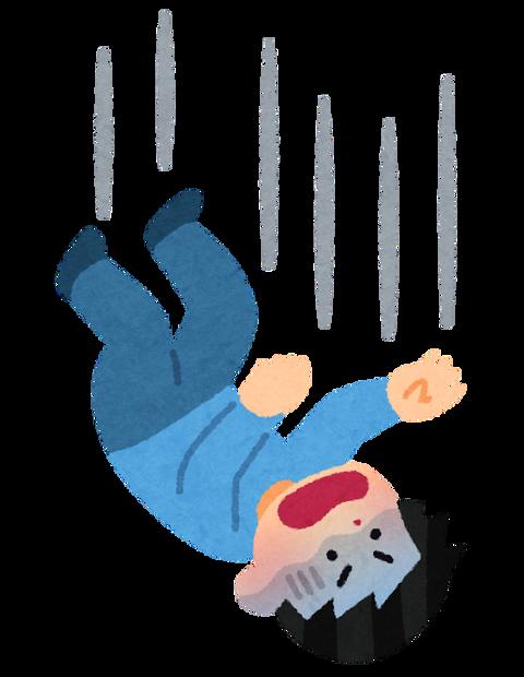 【速報】ワイ、ガチのマジで飛び降り中!