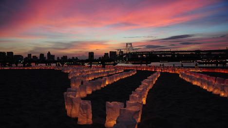 140721海の灯まつり@東京 お台場海浜公園