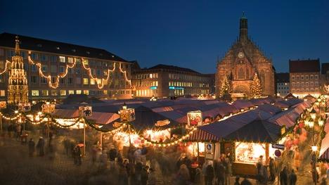 141129ニュルンベルクのクリスマス市@ドイツ バイエルン州