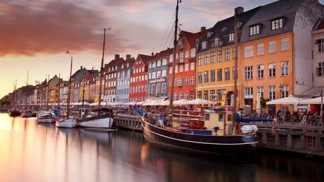 130607ニューハウン運河@デンマーク コペンハーゲン