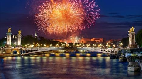 130714アレクサンドル3世橋@フランス パリ