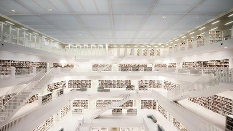 140519シュトゥットガルト市立図書館@ドイツ シュトゥットガルト