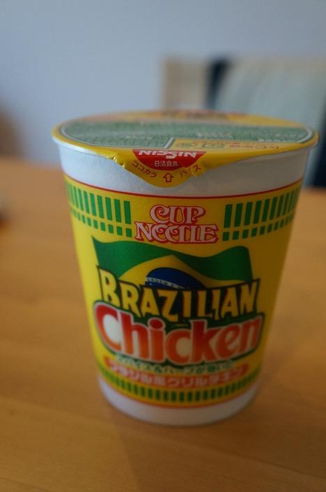 カップヌードルブラジリアンチキン1