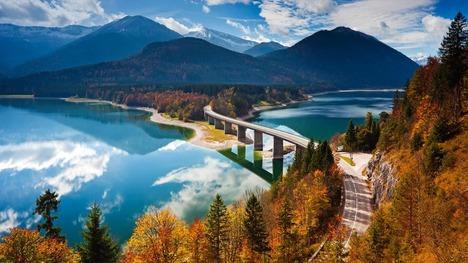 131111ジルヴェンシュタイン湖@ドイツ オーバーバイエルン