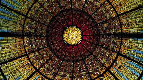 130621カタルーニャ音楽堂@スペイン バルセロナ