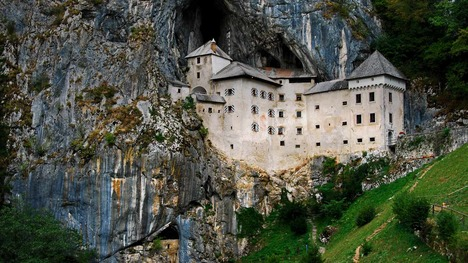 140826プレット洞窟城@スロヴェニア ポストイナ