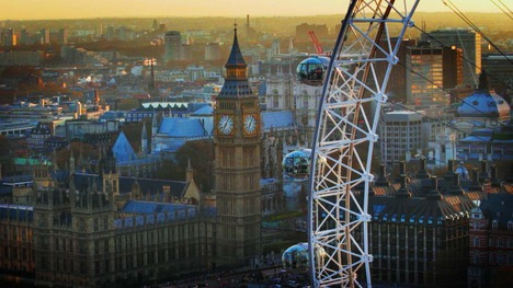 140521ロンドン・アイとビッグ・ベン@イギリス ロンドン