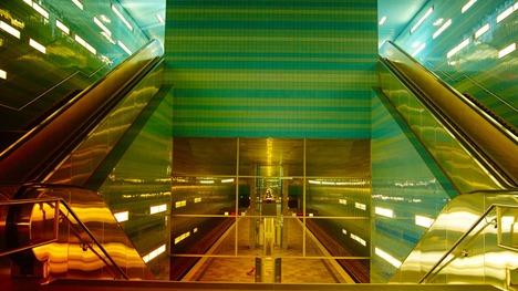 141003ユーバーゼークアティア駅@ドイツ ハンブルク