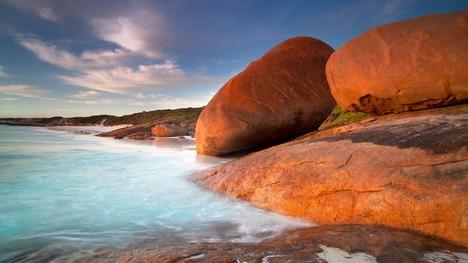 130114花崗岩の美しい浜辺@オーストラリア