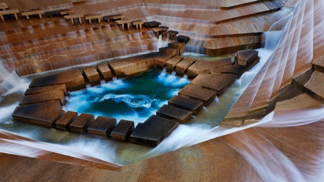 140106フォートワースの噴水公園@アメリカ テキサス