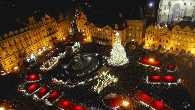 141220クリスマスマーケット@チェコ プラハ