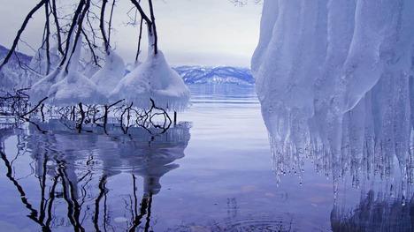 130204しぶき氷@十和田湖