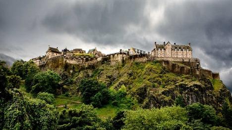 131212エディンバラ城@イギリス スコットランド