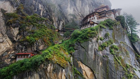 130819タクツァン僧院@ブータン パロ谷