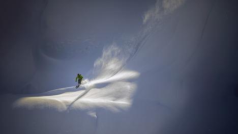 140221バックカントリー・スキーヤー@アメリカ ワシントン州